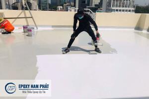 Thi công sơn epoxy tại Long An